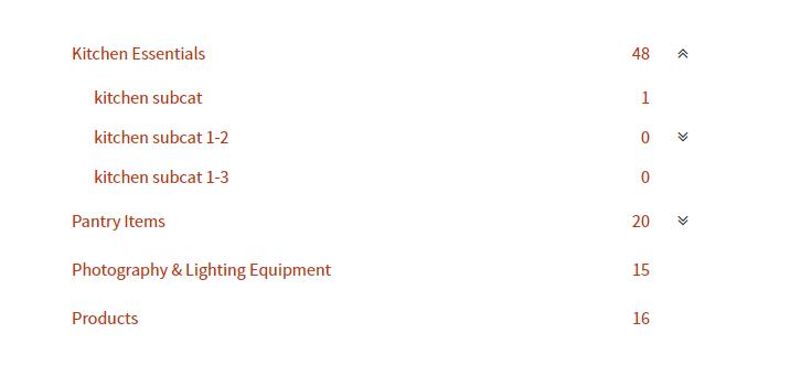 Woocommerce categories dropdown 1