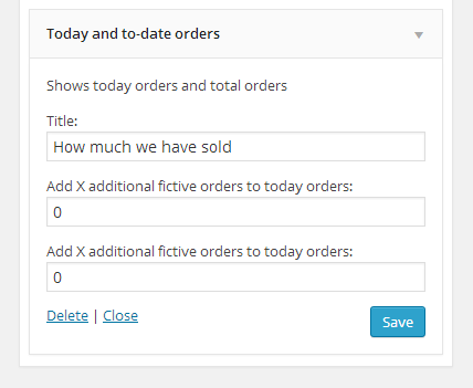 Woocommerce Today Orders and To-date orders 1